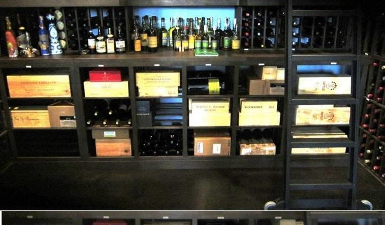 A Gorgeous Custom Wine Cellar with Elegant Wine Racks Designed by a Professional Wine Cellar Builder