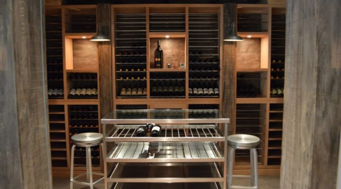 A Wife Sought the Help of Wine Cellar Cooling Unit Specialists in Los Angeles for Building a Unique Home Wine Cellar as a Gift for Her Husband