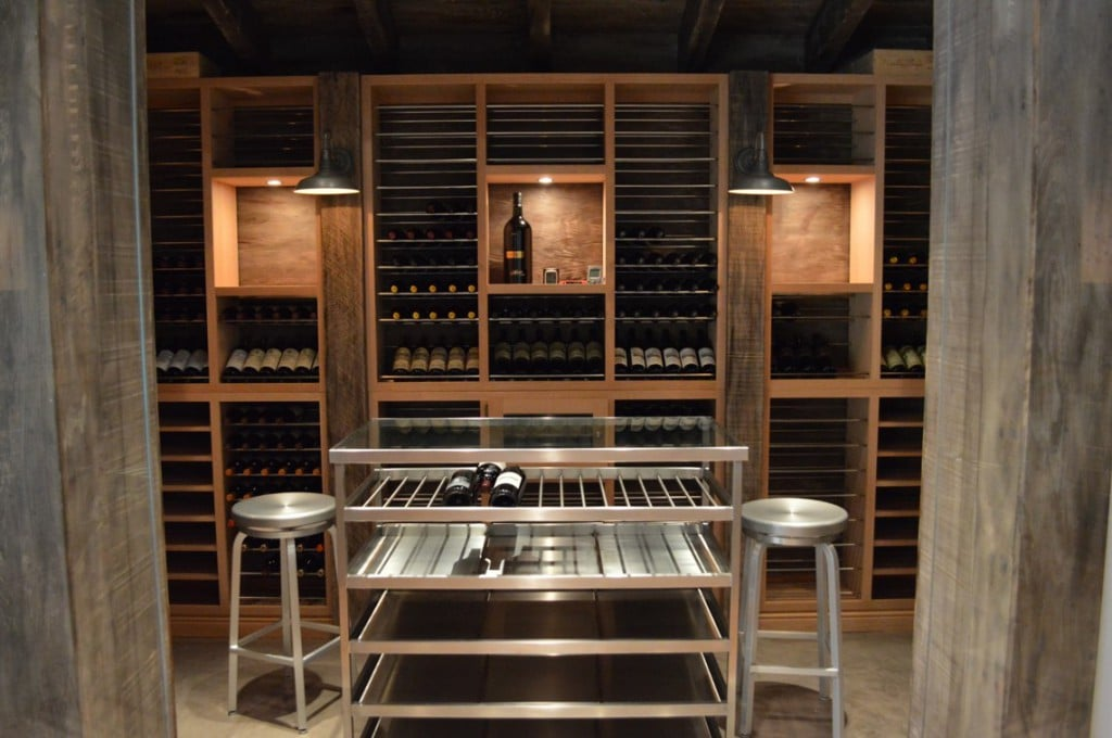 Custom Wine Cellar Cooling Unit Installation Project Los Angeles