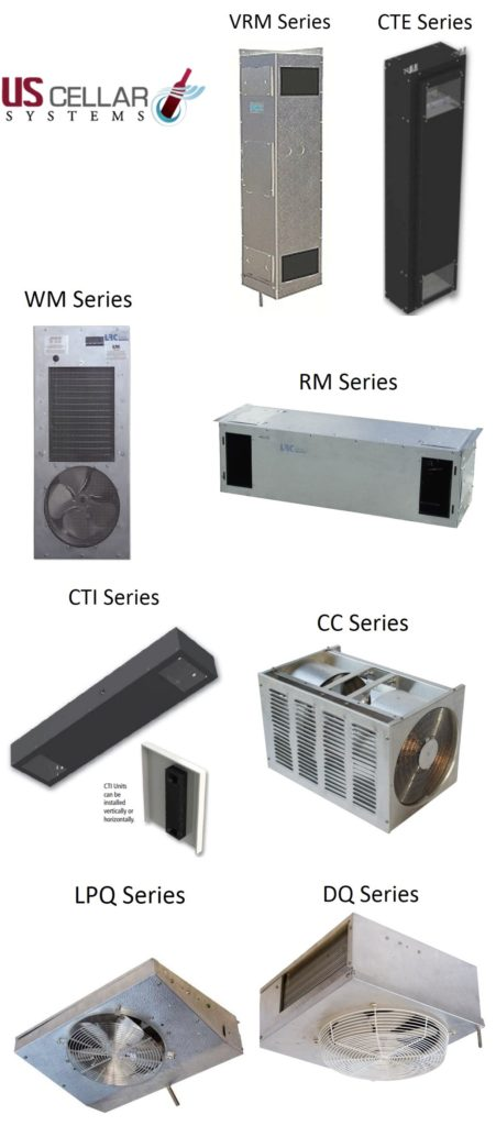 Ductless Wine cellar Refrigeration Systems