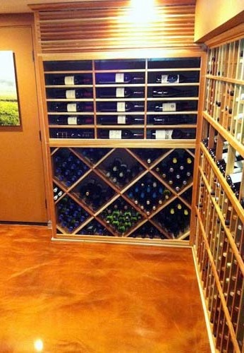 Residential Wine Cellar Cooling Project Completed by Los Angeles HVAC Experts