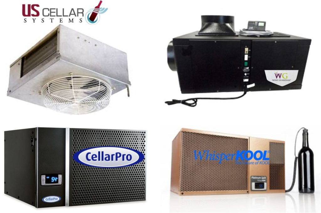 Brands of Wine Cellar Cooling Units Offered by Custom Wine Cellars Los Angeles