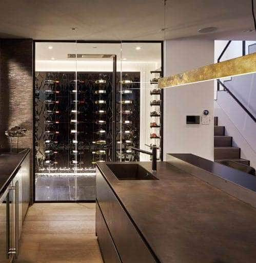 Wine Cellar Cooling and Residential Wine Room Installation Project by Los Angeles Experts