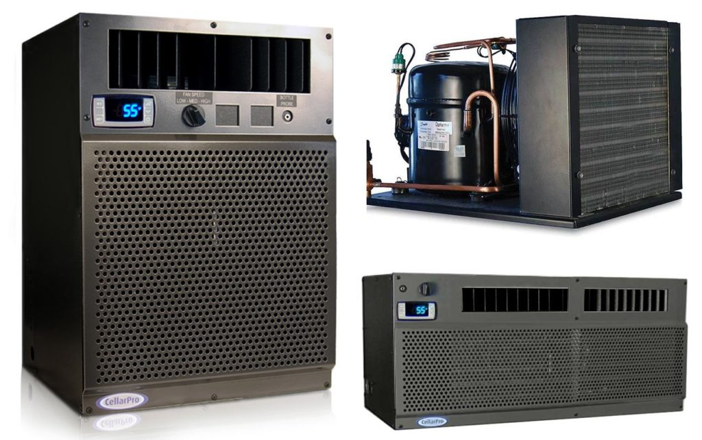 CellarPro Ductless Split Wine Cellar Cooling Systems Offered by Los Angeles Specialists