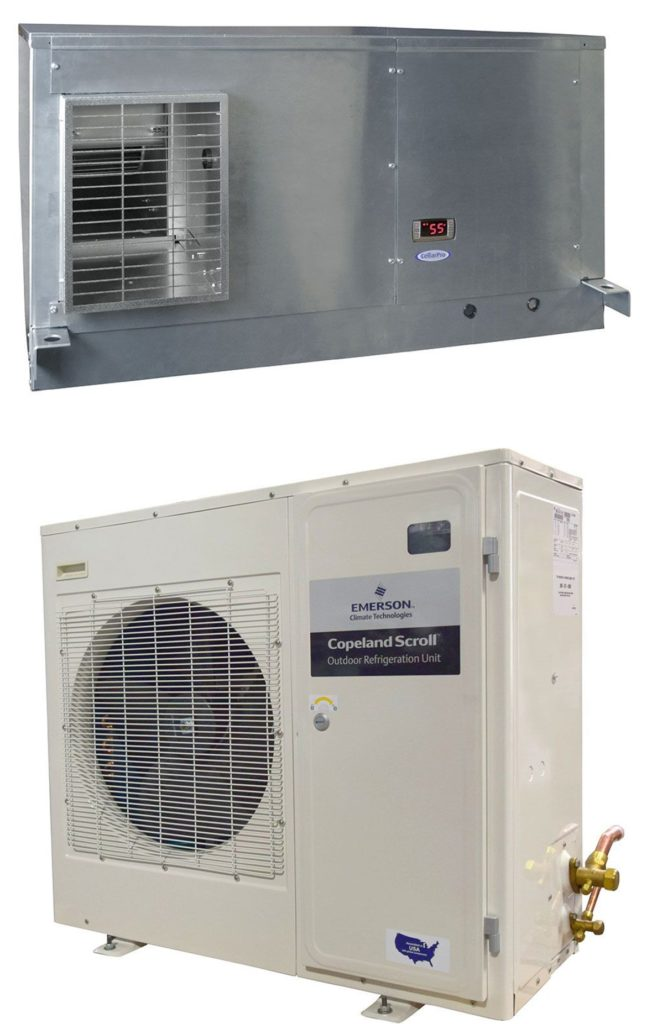 CellarPro Split Air Handler Wine Cellar Refrigeration Units