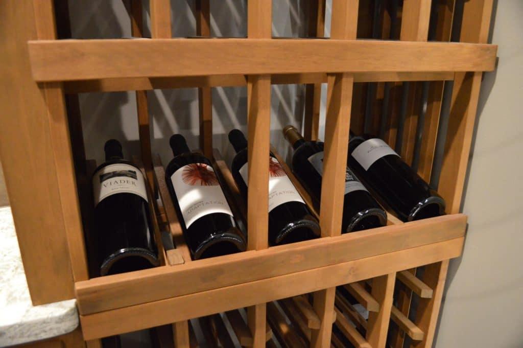 Display Row Wood Custom Wine Racks Los Angeles Wine Cellar Specialist