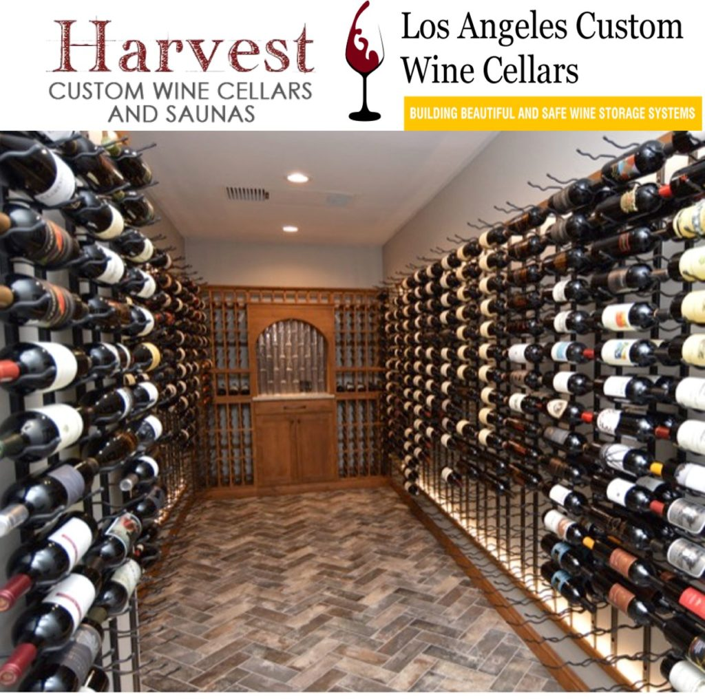 Luxury Custom Home Wine Cellar Created by Los Angeles Specialists