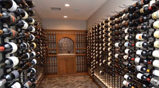 This Luxury Home Wine Cellar Built by a Specialist in Los Angeles Will Make You Want to Have Your Own