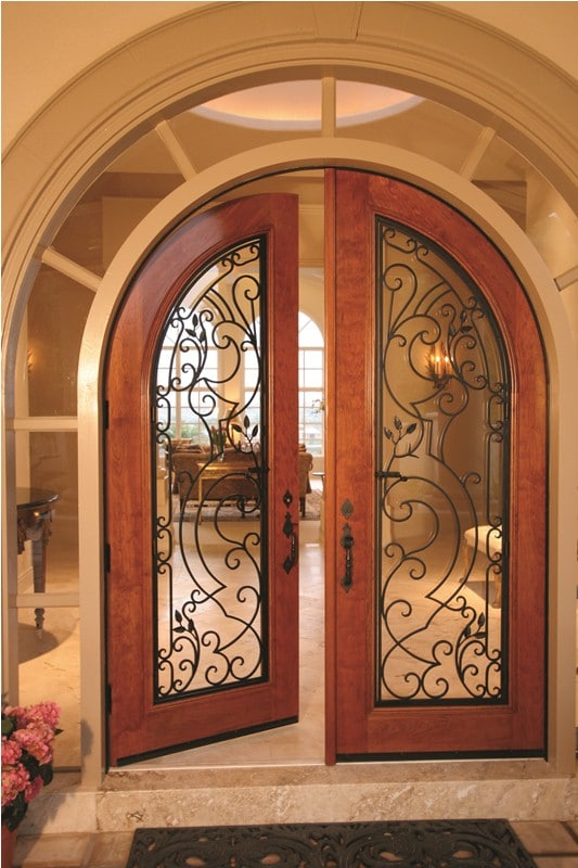 Sealed Custom Wine Cellar Door