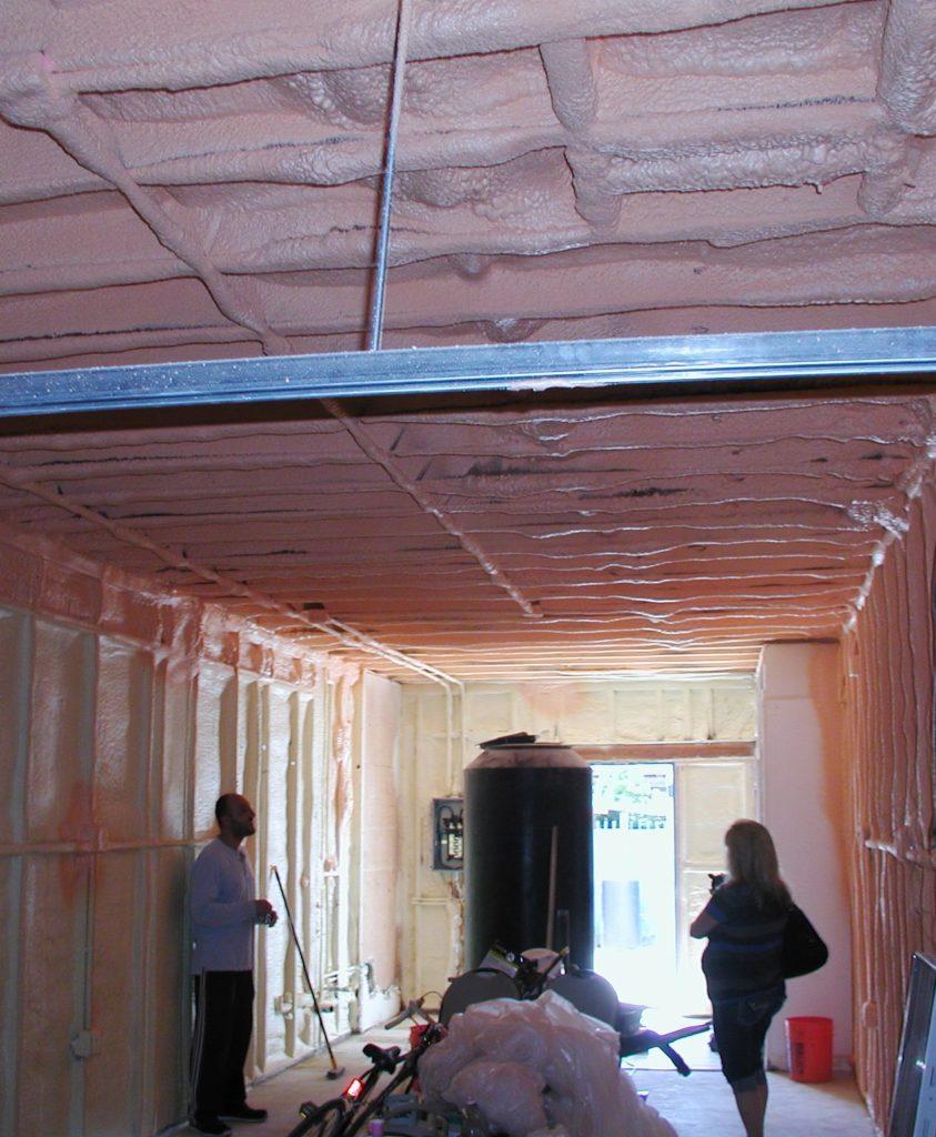 Spray Foam Wine Room Spray Foam Insulation Specialist in Los Angeles