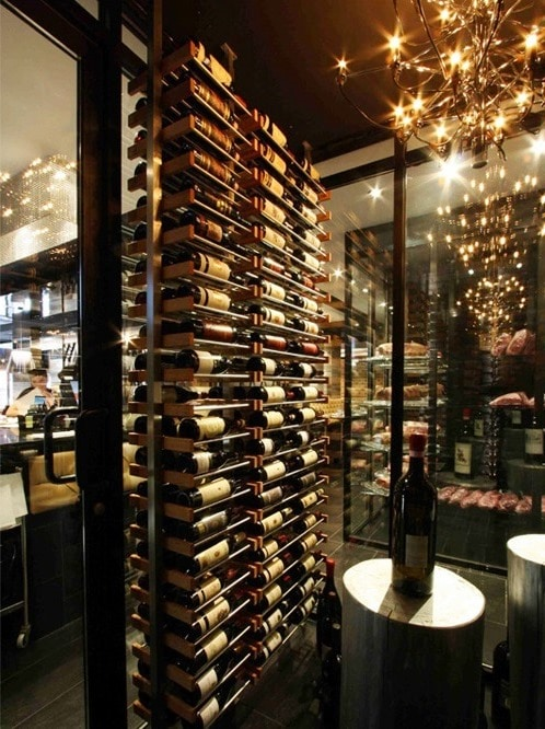 Elegant Commercial Wine Racks