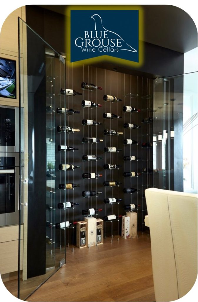 One of the Best Modern Wine Rooms Built by Installers in Los Angeles