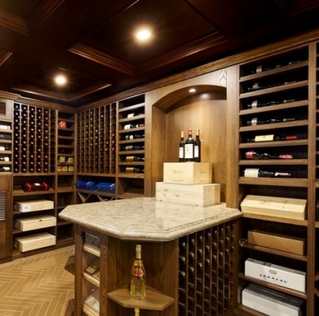 This Lovely Wine Cellar was Built by Wine Room Design Specialists