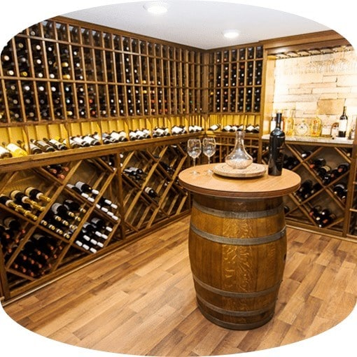Building Gorgeous Custom Home Wine Cellars with the Help of a Wine Room Design Specialist. Let Us Know Your Wants and Needs.