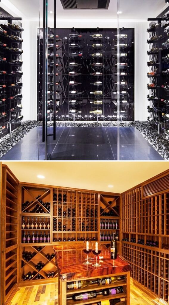 Custom Wine Cellars Designed for Homes in Los Angeles