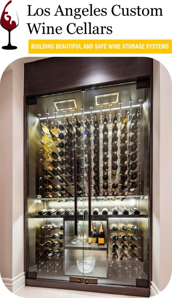 Glass Wine Room Contemporary Wine Cellar Design