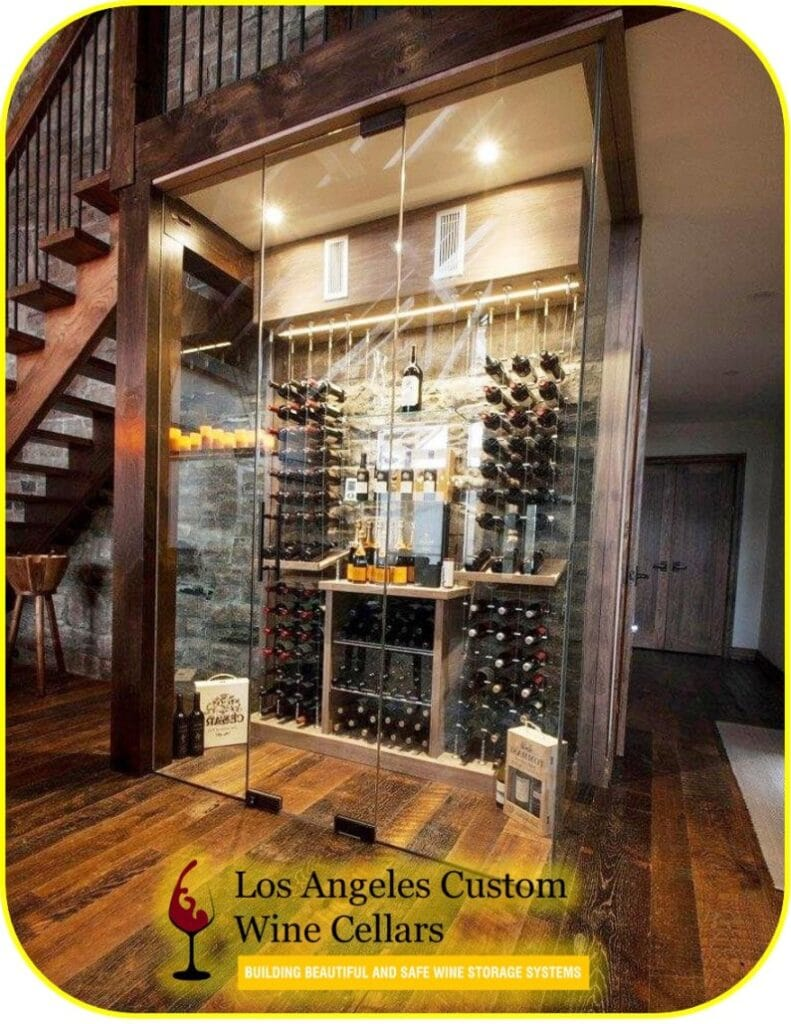 Refrigerated Custom Wine Cellar Built by a Specialist in Los Angeles