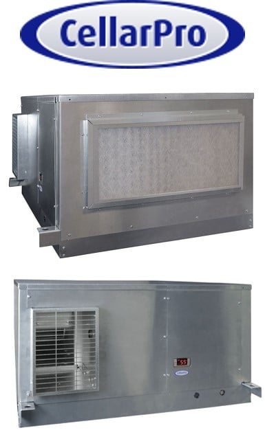 CellarPro Air Handler 24 Wine Cooling Unit with Front Ducting