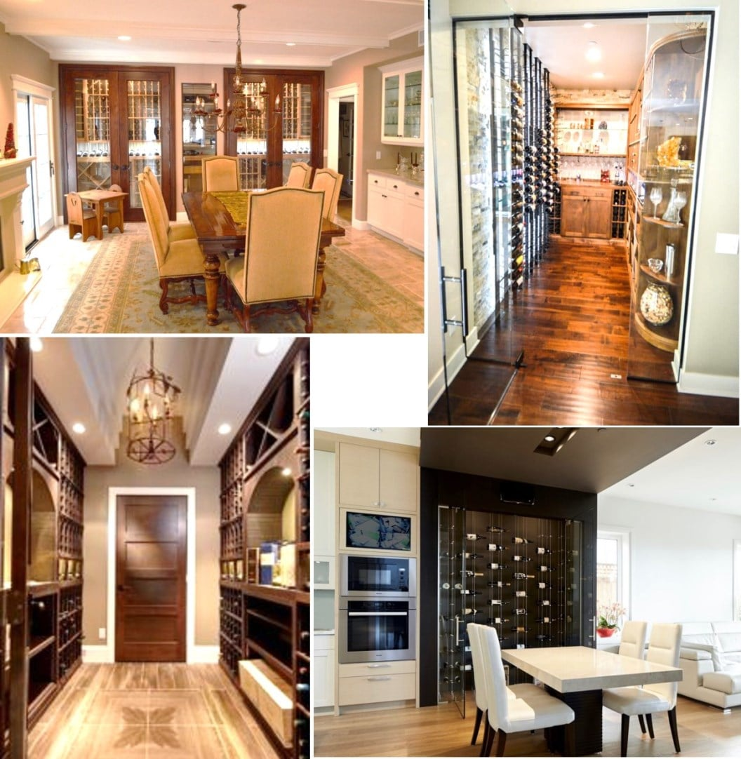 Which of These Luxury Wine Room Designs Suits Your Custom Home Wine Cellar?