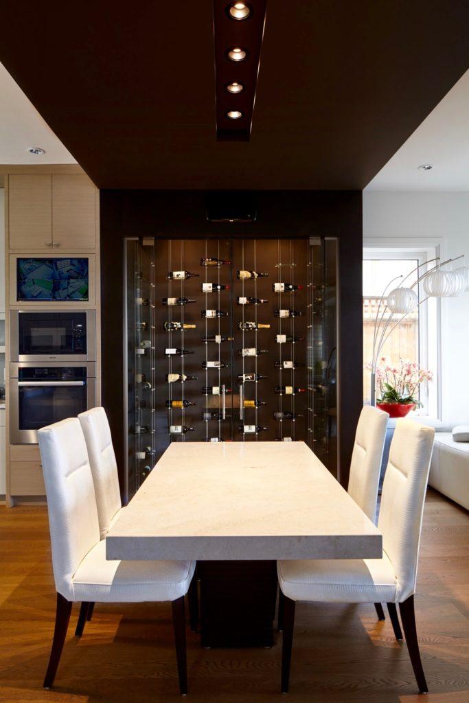 Chic Modern Wine Room