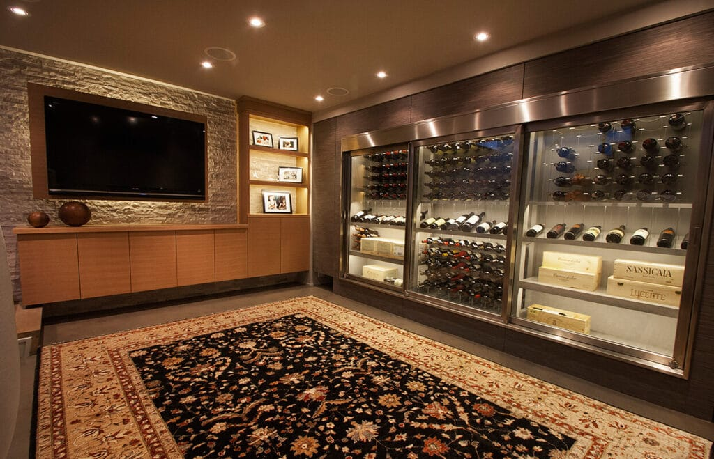 modern-wine-cellar-with-Cable-Wine-Systems