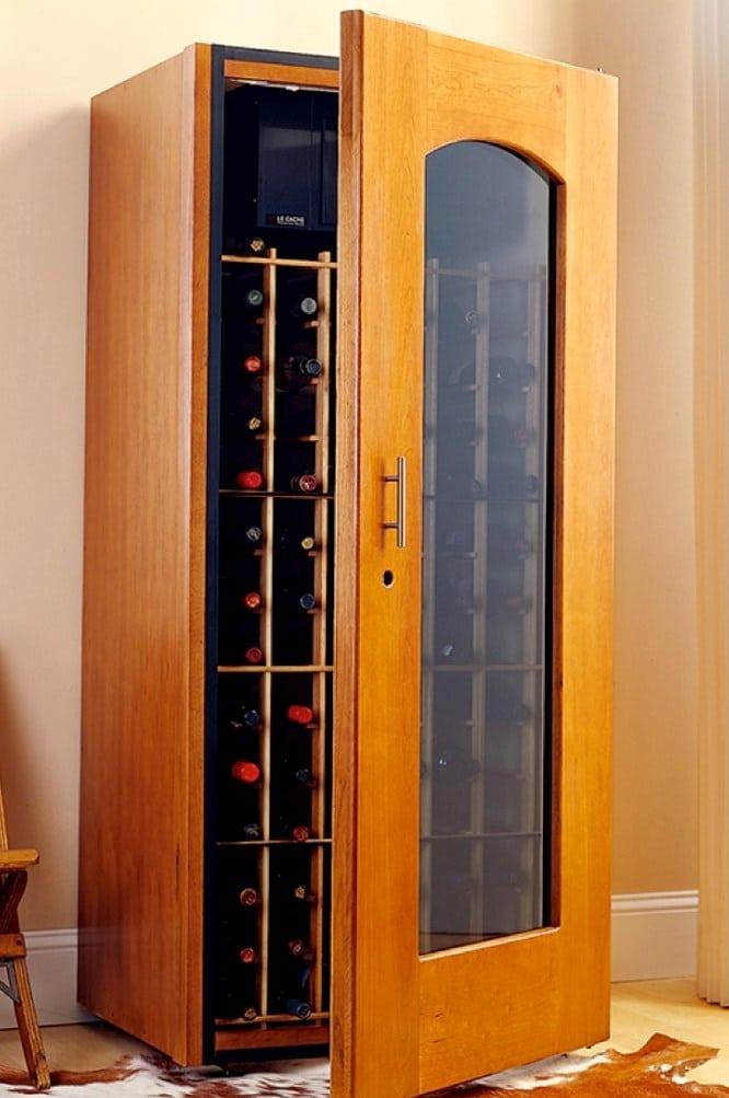 Le Cache Wine Closet Cabinets