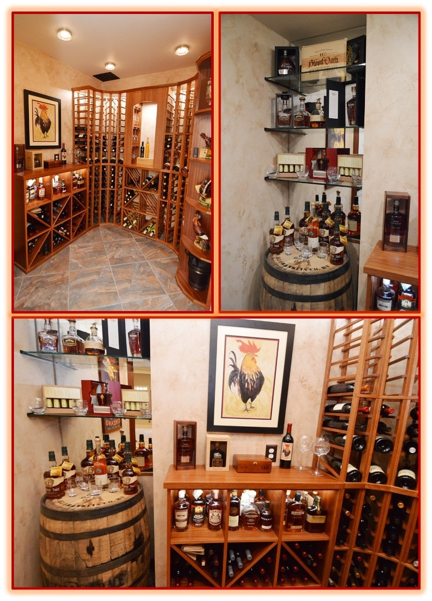 Traditional Wine Racks Designed by a Professional Wine Cellar Builder