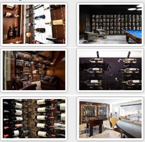 Modern Wine Rooms Designed by a Premier Wine Cellar Builder