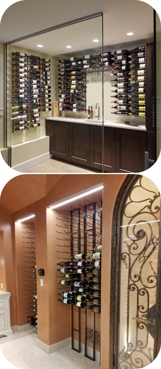 Contemporary Home Wine Cellar Design Ideas That Will Make Your Wine Display Stand Out