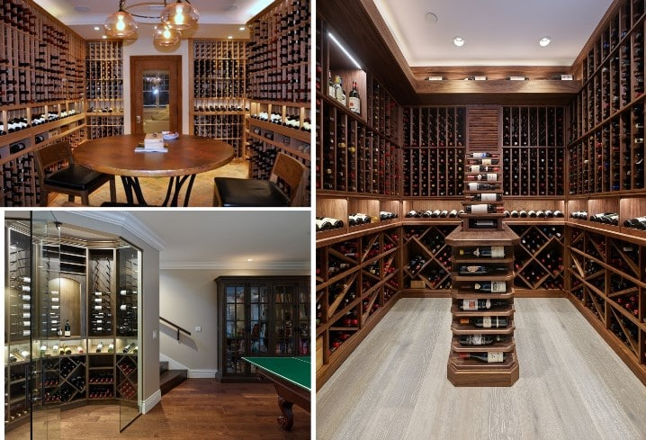 Attractive Wine Racks Designed by Master Builders in Los Angeles