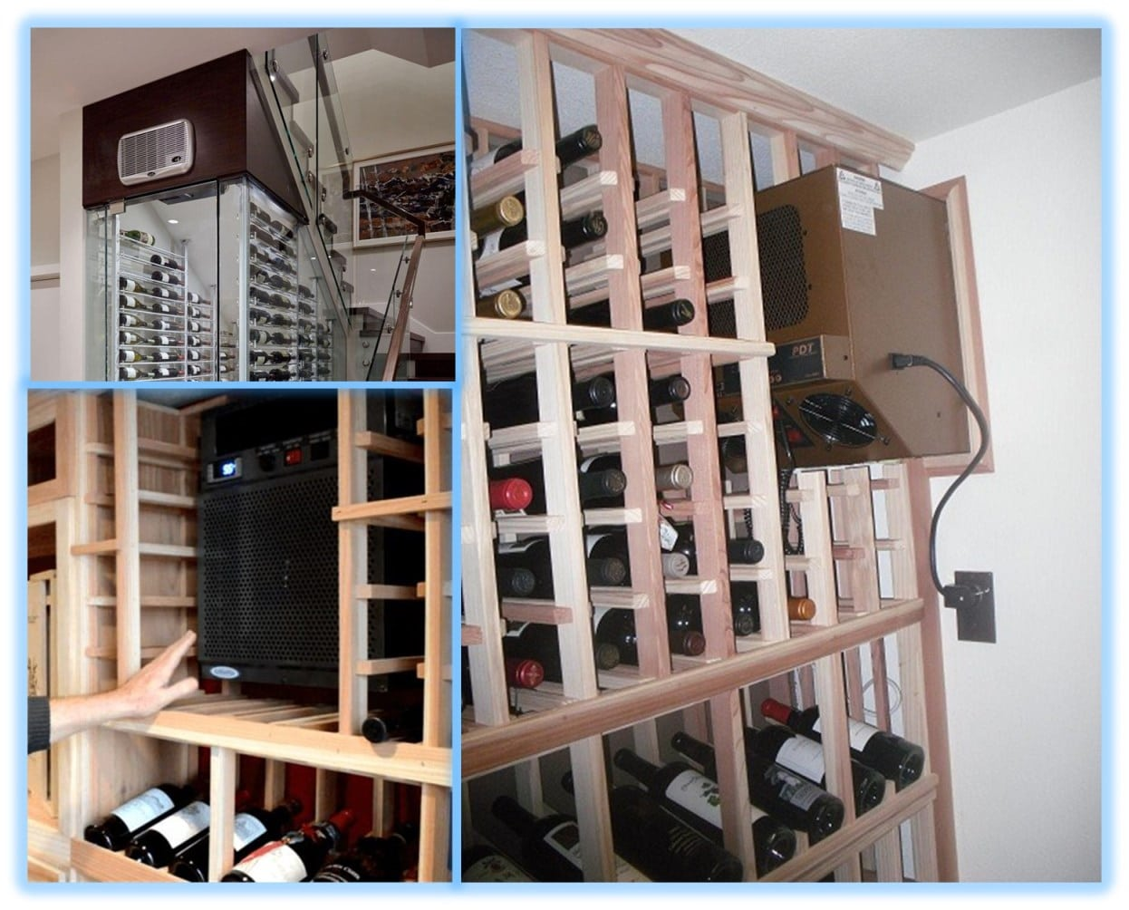 High-Grade Wine Cellar Cooling Units