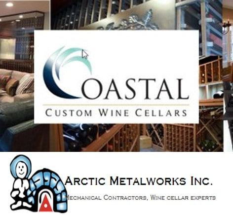 Coastal Custom Wine Cellars and Arctic MetalWorks