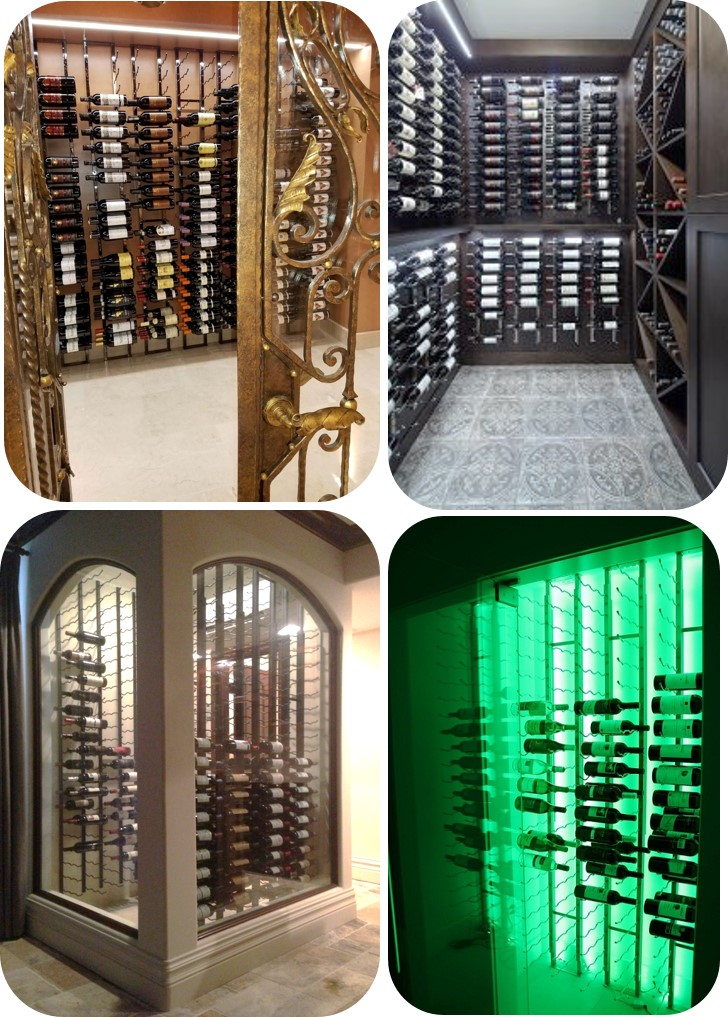Contemporary Wine Racks for Home Wine Cellars