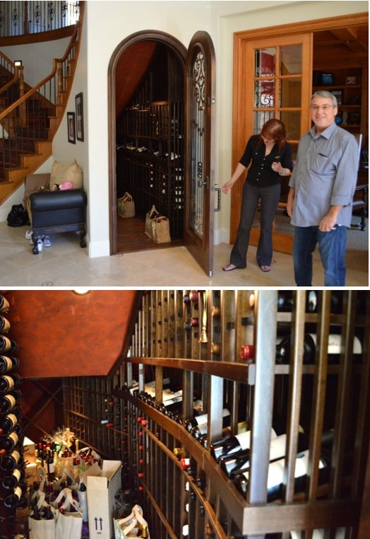 Coto de Caza Wine Cellar Refrigeration System Installation