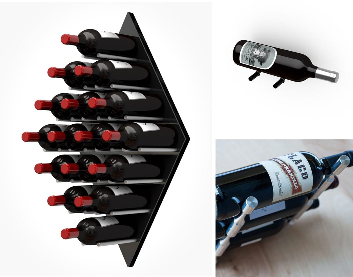 Ultra PEG Contemporary Wine Racks