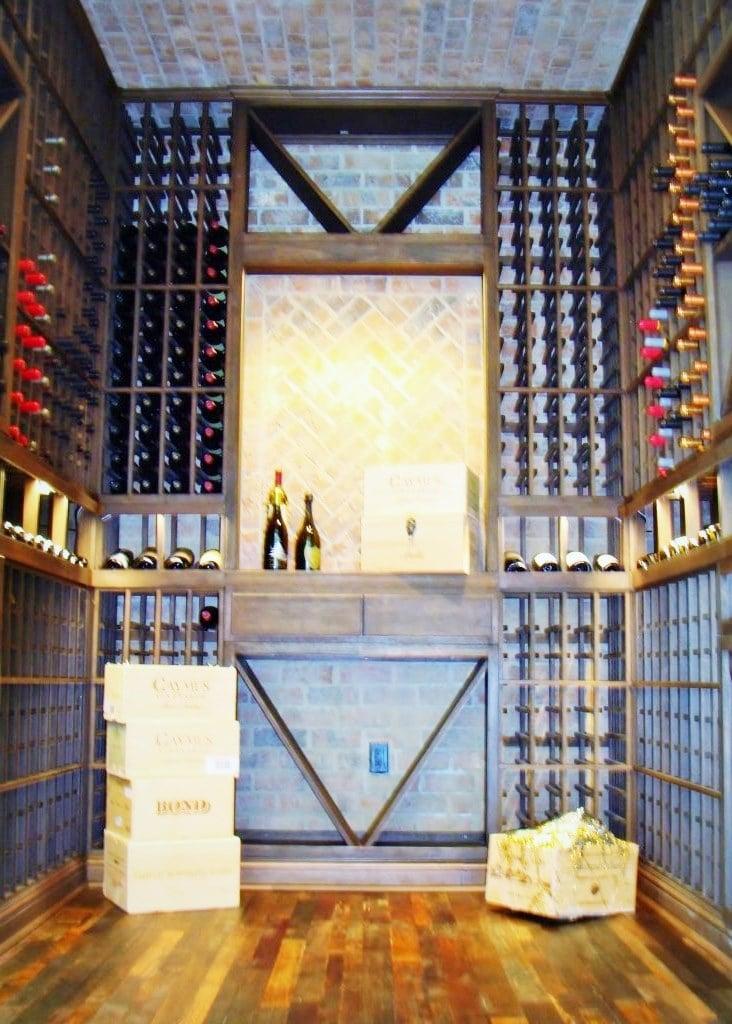 Elegant Wine Barrel Flooring