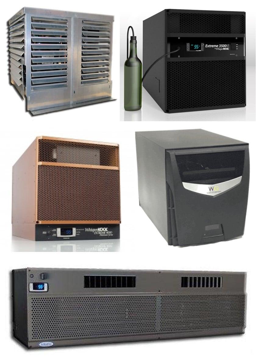High-Grade Wine Cellar Cooling Units