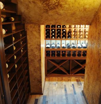 Closet Home Wine Cellar Built by Florida Experts