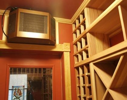 New York Basement Home Wine Cellar