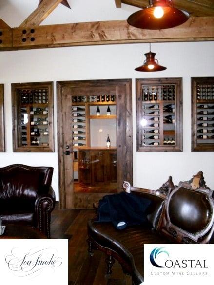 Custom Wine Cellar Built in a California Vineyard
