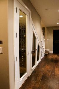 how to build a wine cellar construction california